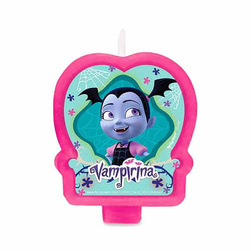 Candelina Vampirina Disney Junior decorazione torta 1 pezzo