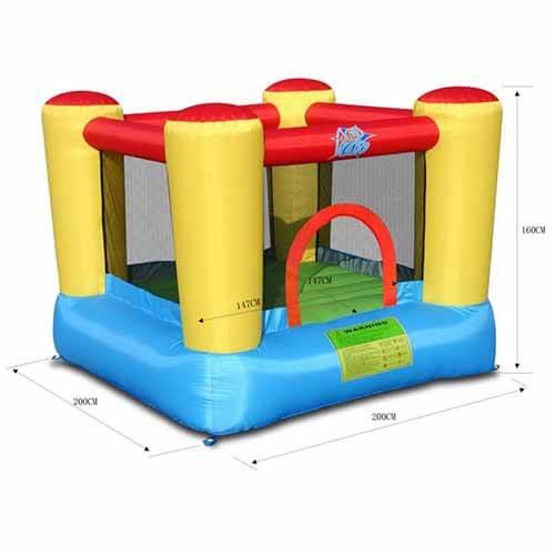Saltarello Top gonfiabile Action-Air 1 pezzo