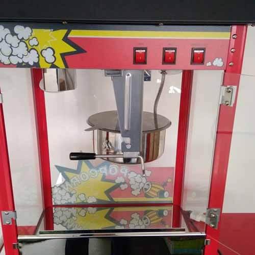 Macchina popcorn e carrello 2 pezzi