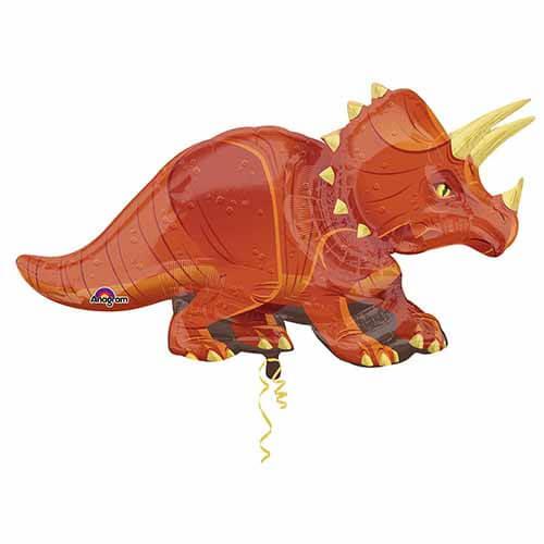 Palloncino Triceraptor Dinosauri SuperShape 1 pezzo