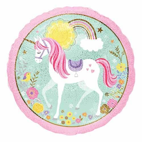 Palloncino Unicorno magico 45 cm 1 pezzo