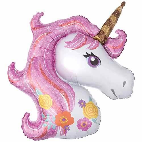 Palloncino Unicorno magico SuperShape 1 pezzo