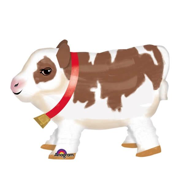 Palloncino Cute mucca al guinzaglio AirWalkers 1 pezzo