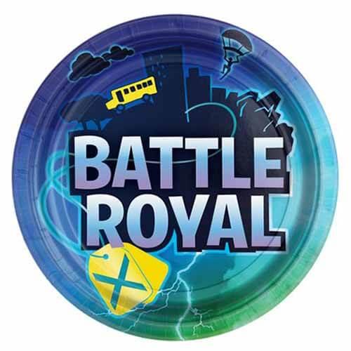 Piatti Battle Royal grandi 8 pezzi