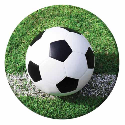 Piatti campionato Calcio grandi 8 pezzi