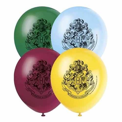 Palloncini Harry Potter lattice rotondi 30 cm 8 pezzi