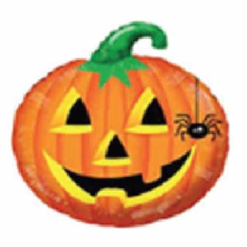 Palloncino zucca Halloween 45 cm 1 pezzo