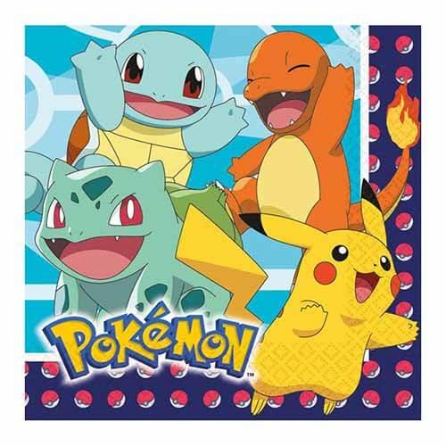 Tovaglioli Pokemon GO 16 pezzi