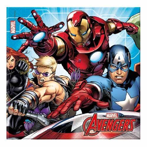 Tovaglioli Avengers Endgame 20 pezzi