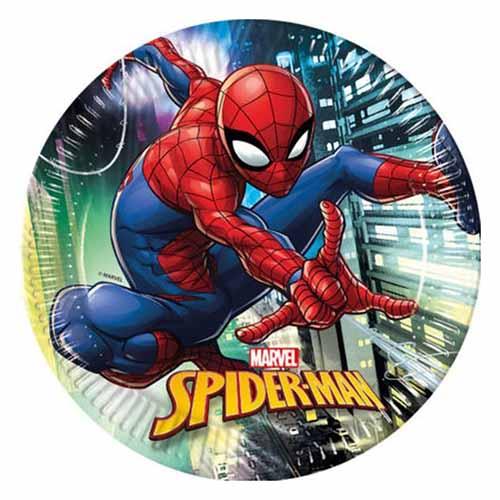 Piatti Spider-Man Team Up grandi 8 pezzi