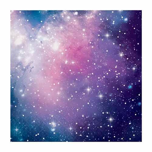 Tovaglioli cielo stellato 16 pezzi
