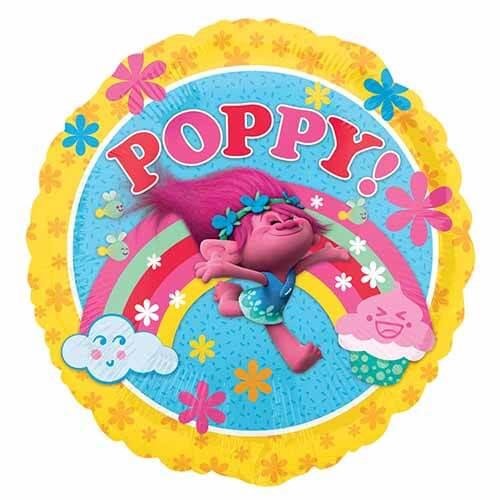 Palloncino Poppy Trolls 45 cm 1 pezzo