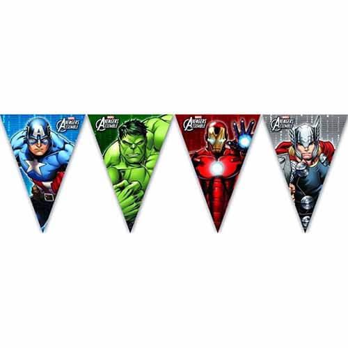 Bandierine Avengers 1 pezzo