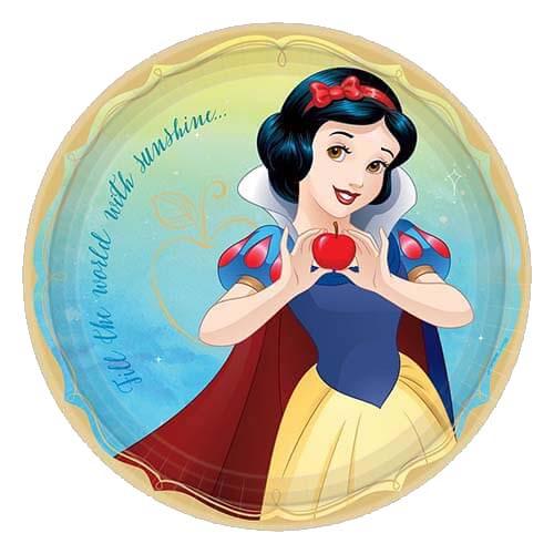 Piatti Biancaneve Disney grandi 8 pezzi