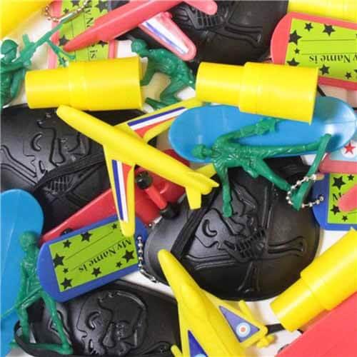 Giocattoli assortimento bambino regali fine feste 24 pezzi