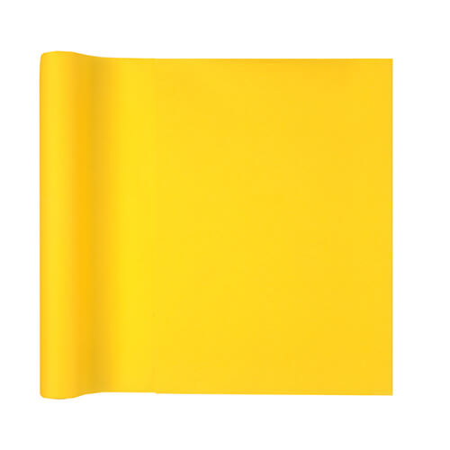 Tovaglia runner giallo 40 x 480 cm 1 rotolo