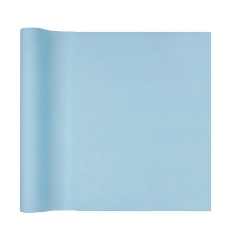 Tovaglia runner celeste pastello 40 x 480 cm 1 rotolo