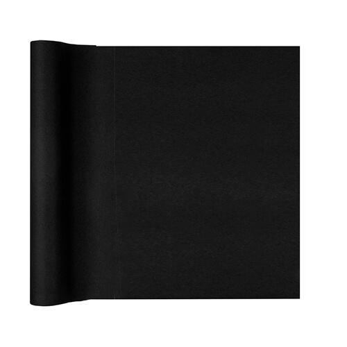 Tovaglia runner nero 40 x 480 cm 1 rotolo