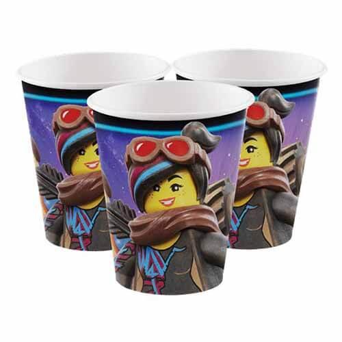 Bicchieri Lego Movie 8 pezzi