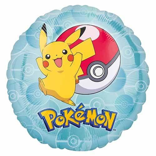 Palloncino sfera Pikachu Pokemon 45 cm 1 pezzo