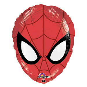 Palloncino Spider-Man maschera 45 cm 1 pezzo