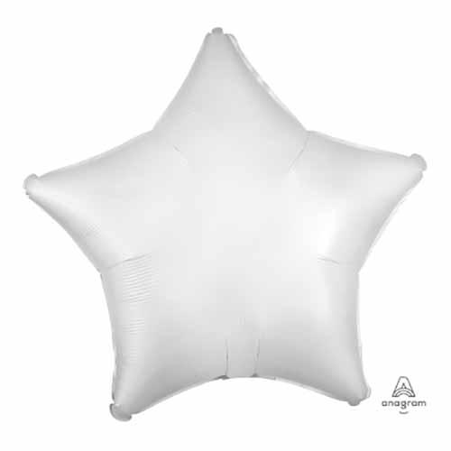 Palloncino stella bianco 48 cm 1 pezzo