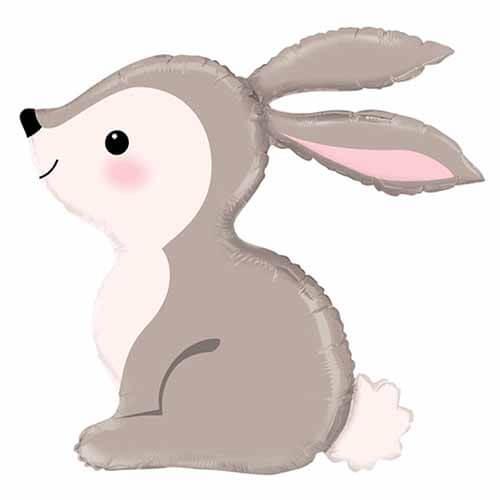 Palloncino coniglietto del bosco UltraShape 1 pezzo