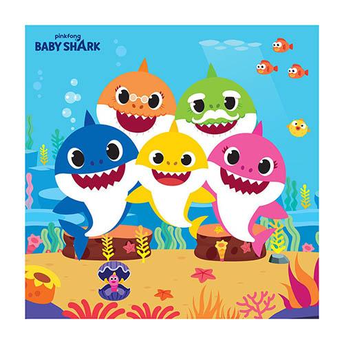 Tovaglioli Baby Shark 16 pezzi