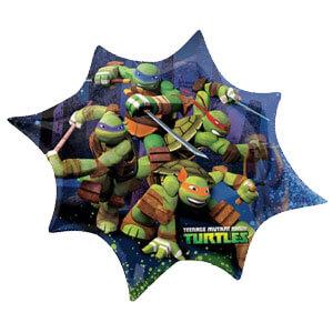 Palloncino Tartarughe Ninja gruppo SuperShape 1 pezzo