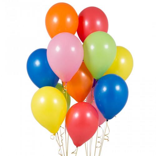 Set palloncini 20esimo compleanno arcobaleno 14 pezzi