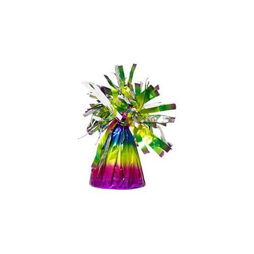 Set palloncini 60esimo compleanno arcobaleno 14 pezzi
