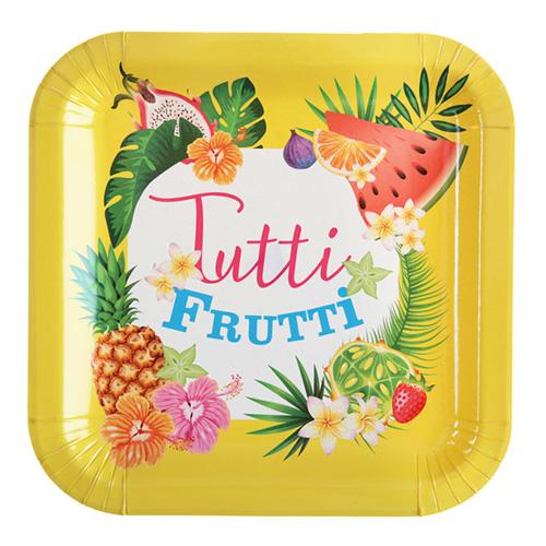 Piatti Tuttifrutti grandi 10 pezzi