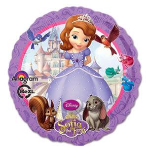 Palloncino Sofia la principessa Disney 45 cm 1 pezzo