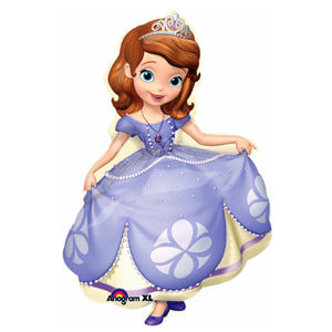 Palloncino Sofia la principessa Disney SuperShape 1 pezzo