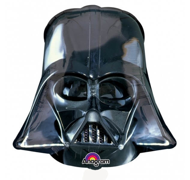 Palloncino Darth Vader Star Wars Elmetto SuperShape 1 pezzo
