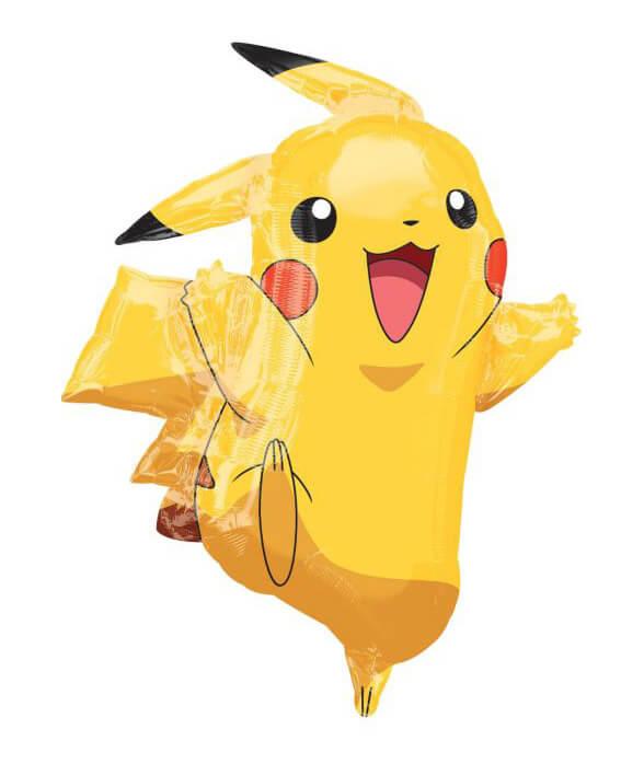 Palloncino Pikachu Pokémon SuperShape 1 pezzo