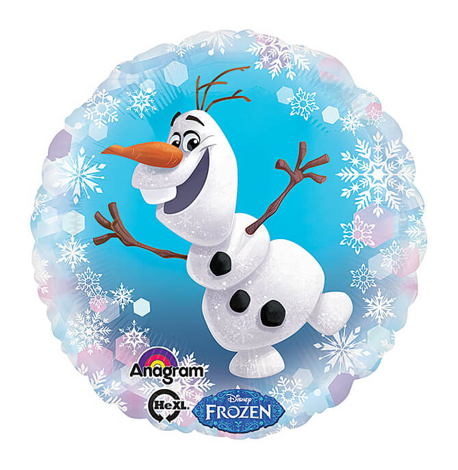 Palloncino Olaf Frozen Disney 45 cm 1 pezzo
