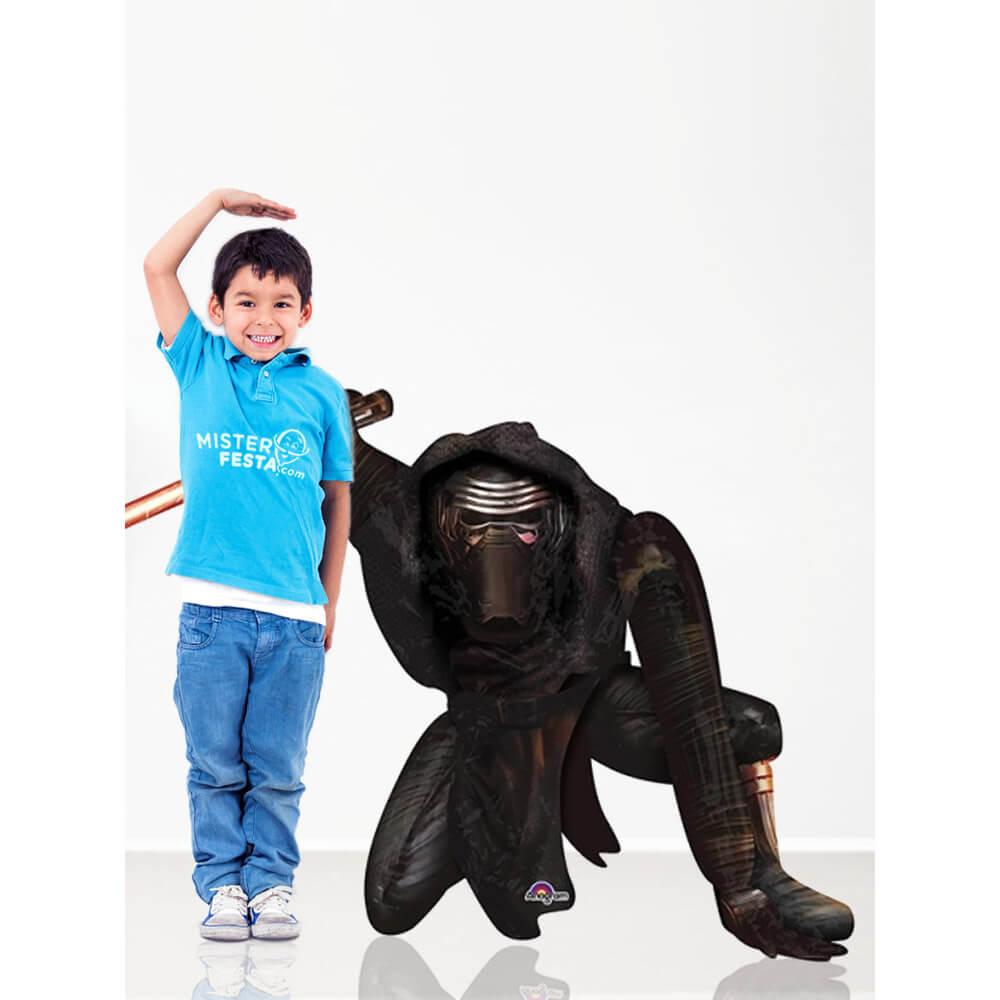 Palloncino Kylo Ren Star Wars mascotte AirWalkers 1 pezzo
