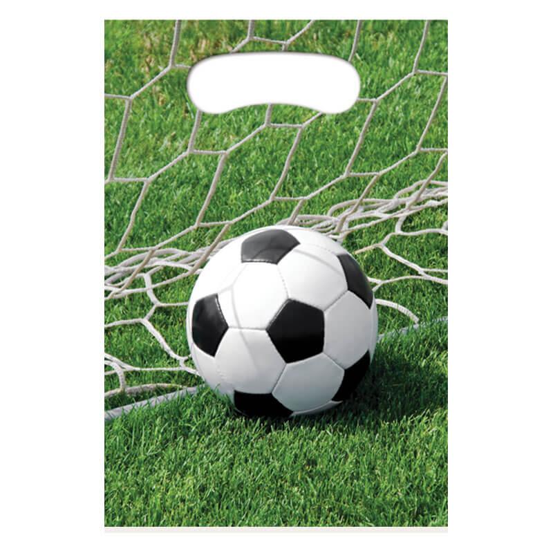 Bustine Campionato Calcio per regali fine festa 8 pezzi