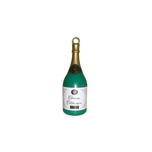 Pesino bottiglia Champagne per ancorare palloncini 1 pezzo