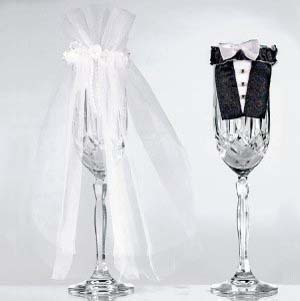 Costume copricalice Sposi 2 pezzi