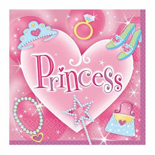 Tovaglioli Princess 16 pezzi