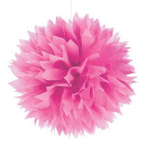 Pendenti fluffy rosa pastello 3 pezzi