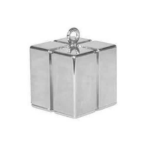 Pesino pacchetto argento per ancorare palloncini 1 pezzo