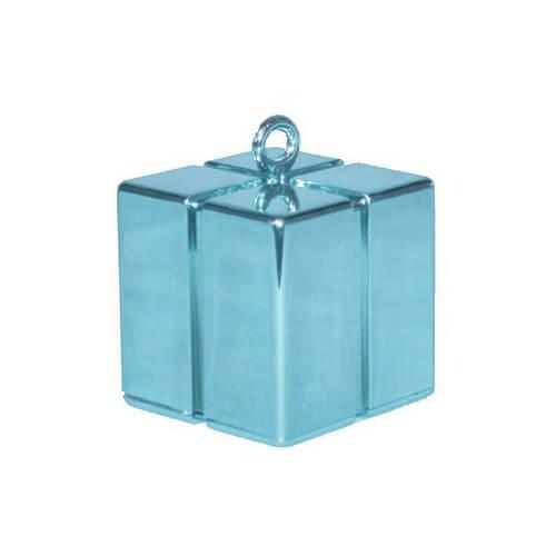 Pesino pacchetto celeste pastello per ancorare palloncini 1 pezzo