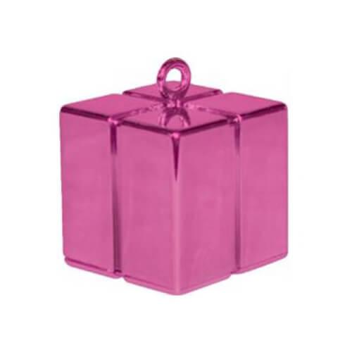 Pesino pacchetto magenta per ancorare palloncini 1 pezzo