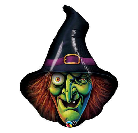 Palloncino orribile Strega Halloween UltraShape 1 pezzo