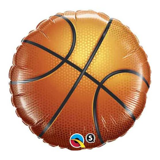 Palloncino palla da Basket 45 cm  1 pezzo