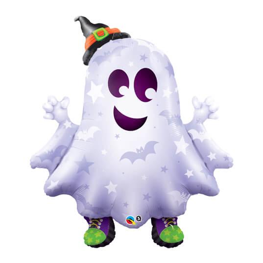 Palloncino Fantasma con sneakers UltraShape 1 pezzo