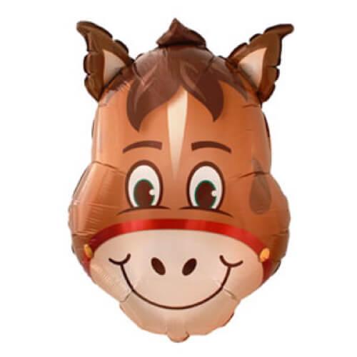 Palloncino cavallo smile UltraShape 1 pezzo